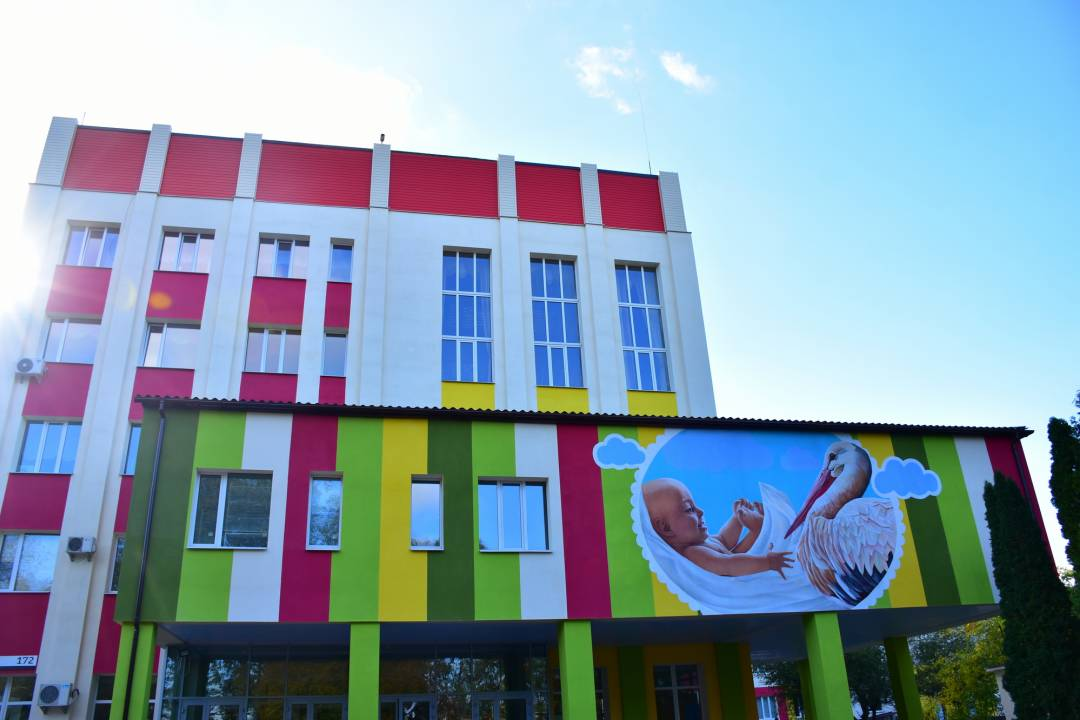 Чернігівський пологовий будинок тепер комфортний і сучасний